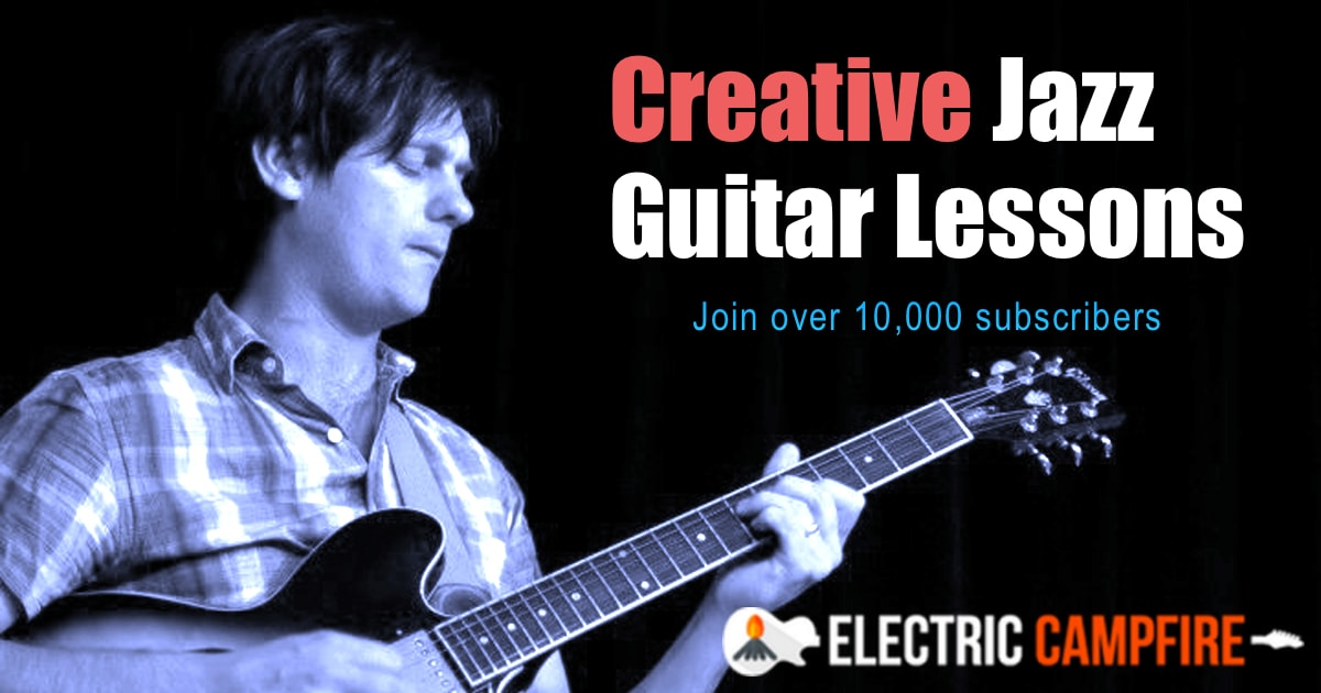 Mike Outram | Online Jazz Guitar Lessons | ElectricCampfire com