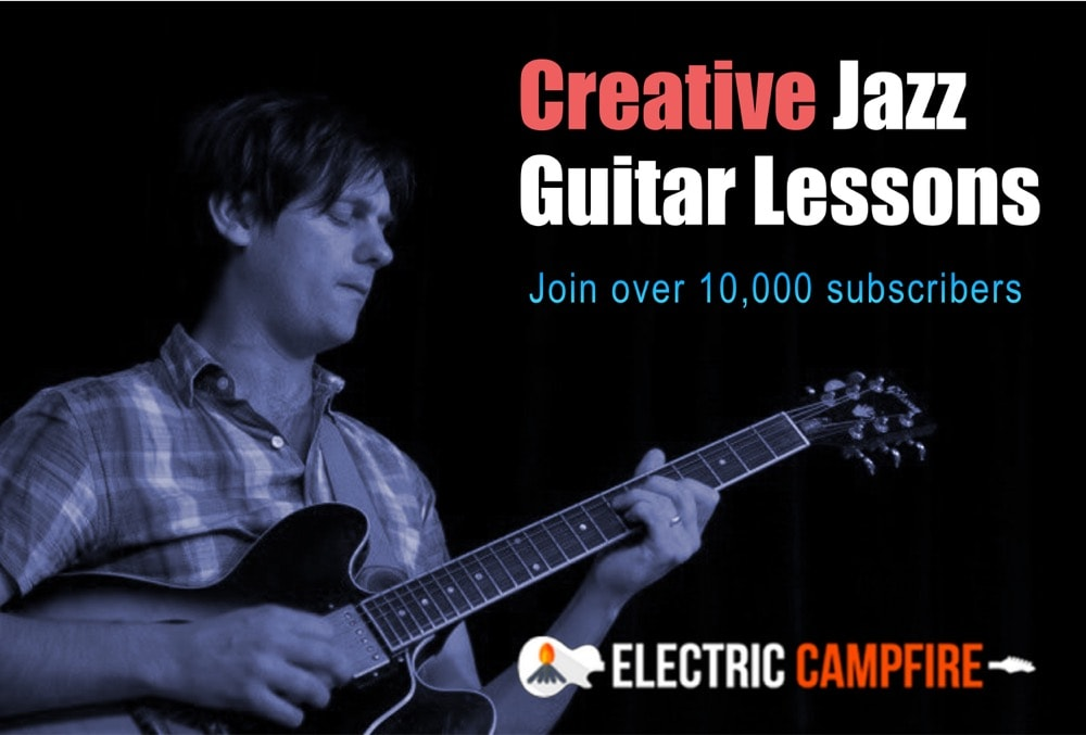 Mike Outram | Online Jazz Guitar Lessons | ElectricCampfire com