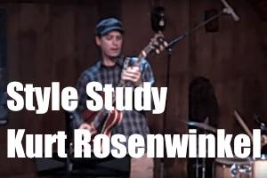 Style Study: Kurt Rosenwinkel