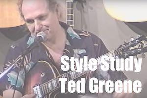 Style Study: Ted Greene