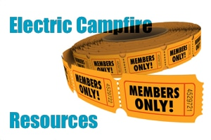 Electric Campfire Resources - member only perks, discounts and offers